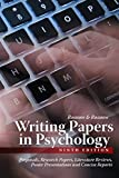 img - for Writing Papers in Psychology book / textbook / text book