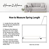 "House2Home 31"" Sofa Upholstery Spring"