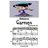 Habanera Carmen Easiest Piano Sheet Music
