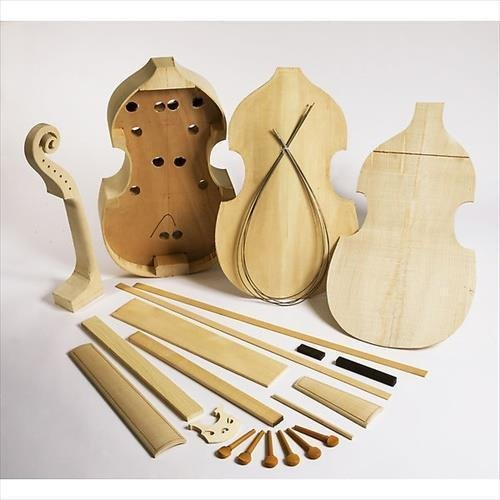 EMS Bass Viol Kit, Barak Norman pattern - BUILD YOUR OWN!