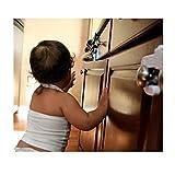 Niheshi Child Safety Sliding Lock For Cupboards
