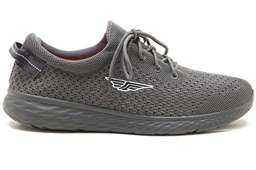 Red Tape Mens Athleisure Sports Range Grey Running Shoe