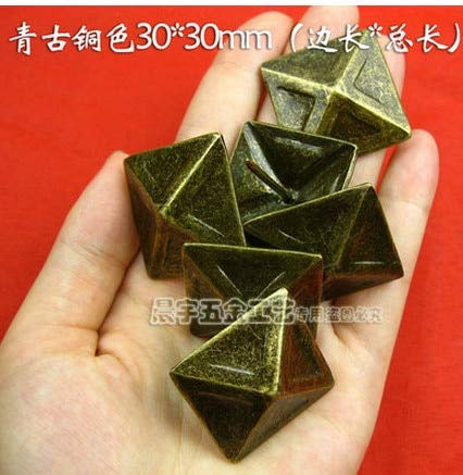 Ochoos Hardware Accessories Nails Upholstery Nails Upholstery Tacks Decorative Tacks Furniture Hardware Nail Square 30mm30mm