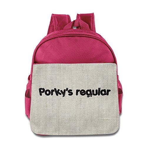 Customized Porky Geek Kid's Backpack School Backpack Pink