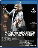 Martha Argerich, Mischa Maisky and Luzerner Sinfonieorchester [Blu-ray]