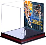 Stephen Curry Golden State Warriors Mahogany Basketball Display Case with NBA Record 13 3-Pointers Sublimated Plate - Fanatics Authentic Certified