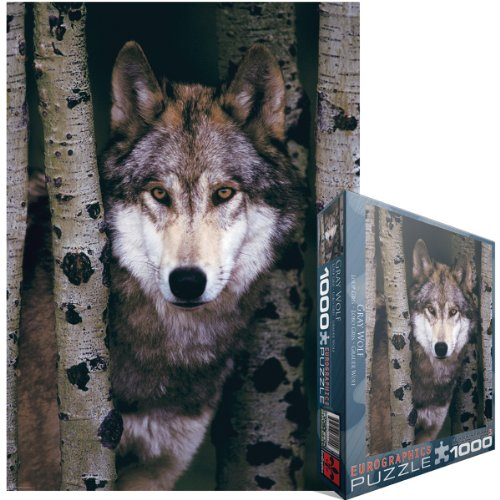 Eurographics Gray Wolf 1000-Piece Puzzle