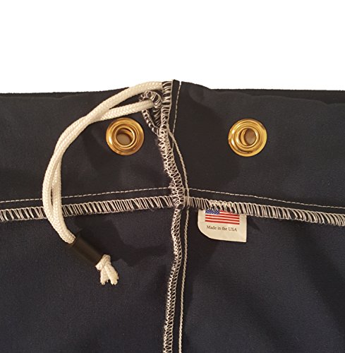 Heavy Duty 30x40 Canvas Laundry Bag with 6 Brass Grommets and Handle by Laundry Bags (Image #1)