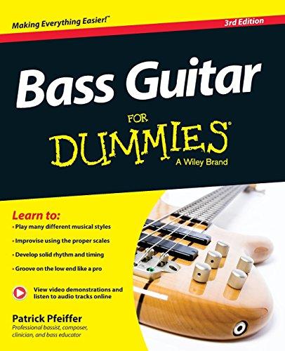 Bass Guitar For Dummies, Book + Online Video & Audio Instruction (For Dummies Series)
