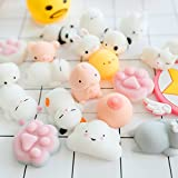 Squishy Boob & Penis Bachelorette Party Slow Rising Toy Mini Squishies Squeeze Soft Stretchy Fidget Kawaii Animal Squishys Squeeze Mochi, Vent Hand Toy, Stress Relieve Ball, Prank Gag Toy