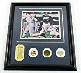 Derek Jeter Game Used Collection Photo Bat Coin Pin Highland Mint DF024953 - MLB Game Used Bats