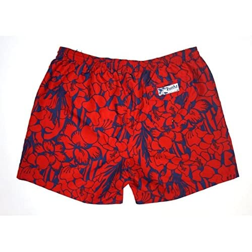 884c57dd89 NEW TRUNKS SURF & SWIM CO. RED AND NAVY BLUE FLORAL BATHING SUIT ...