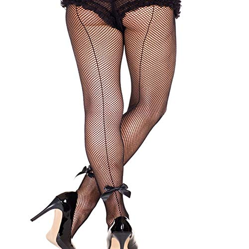 Amazon.com: ForShop Sexy Women Tights Sexy Fishnet Stockings Women Stockings Cuban Back Seam Line with Bow Lingeire Pantyhose Female Hosiery: Kitchen & ...