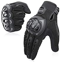COFIT Guantes de Moto, Pantalla Táctil en los Dedos, Guantes de Moto de Carreras, para Bicicleta ATV BMX MTB, Escalada,