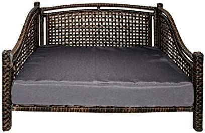 Maharaja Rattan Pet Day Bed, Indoor/Outdoor