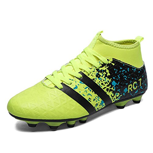 Football Children's Outdoor Top 41 C Men Lawn Color Teenagers Shoes Shoes Size Football Boy's Shoes High Training Unisex f7xqfwUrv