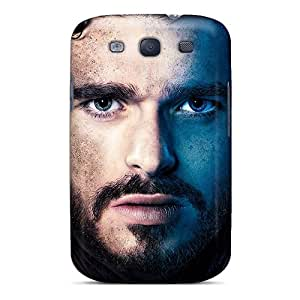 Great Hard Phone Cases For Samsung Galaxy S3 With Provide Private Custom Trendy Game Of Thrones Robb Stark Image MarcClements