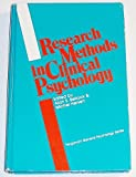 Research Methods in Clinical Psychology, Alan S. Bellack, Michel Hersen, 0080294103