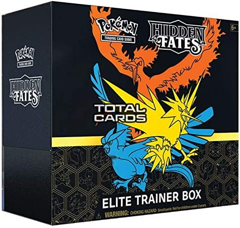 Pokemon TCG Hidden Fates Elite Trainer product image