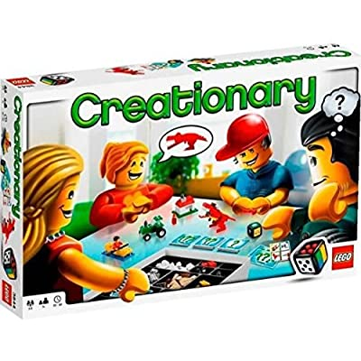 LEGO Creationary Game (3844): Toys & Games
