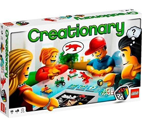 LEGO Creationary Game (3844) (Lego Games Creationary)