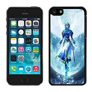 Fashionable DIY Custom Designed Valkyrie Profile Cover Case For iPhone 5c Black Phone Case CR-674