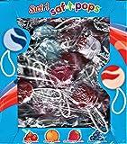safety pops lollipops Spangler Swirl Saf-T-Pops, Assorted, 100 Count