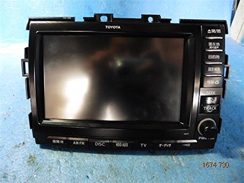 トヨタ 純正 エスティマ R50系 《 GSR50W 》 マルチモニター P40900-16012402 B01MRSBMUU