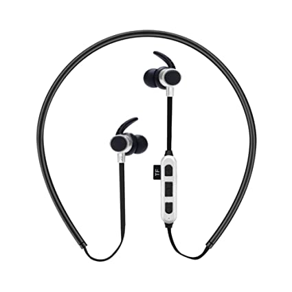 ETbotu Bluetooth In Ear Type Headphones Stereo Sport Headset with TF Card Slot for iPhone Samsung