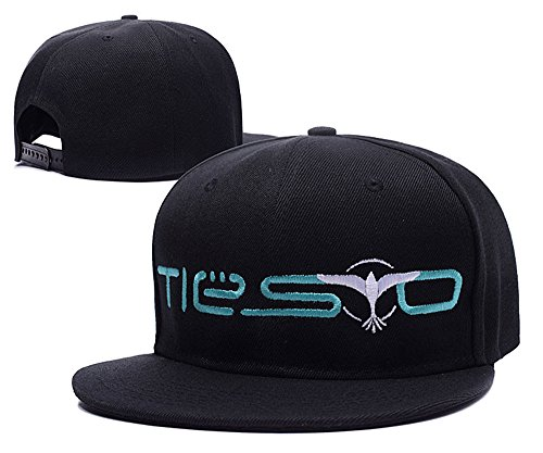 Tiesto Logo Adjustable Snapback Embroidery Hats Caps