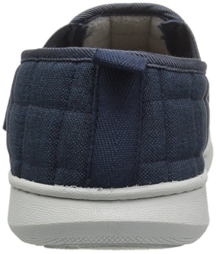 Dockers Mens Raymond Ultra-Light Quilted a-Line Premium Slippers Moccasin Navy qg1R5NLpc1