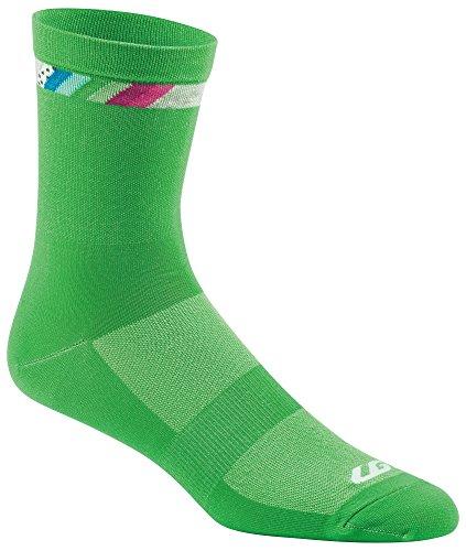 - Louis Garneau - Conti Long Performance Cycling Socks for Men and Women, Island Green, Large/X-Large