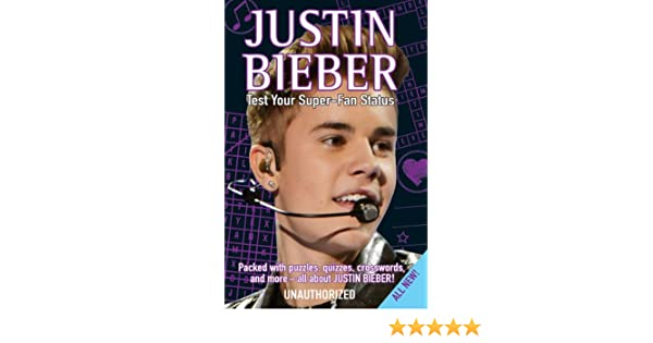 Amazoncom Justin Bieber Test Your Super Fan Status Packed with