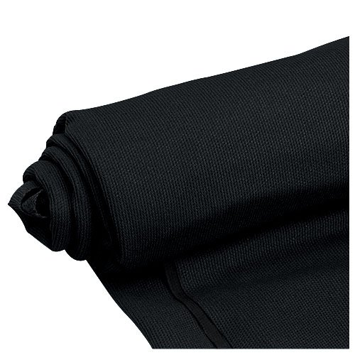Mellotone Premium Black Speaker Grill Cloth Yard 64