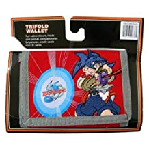 Beyblade Red Action Trifold Wallet - Red