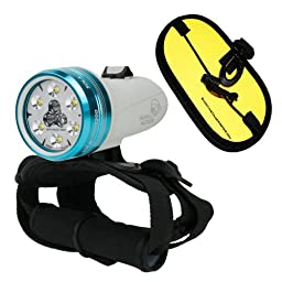 Light and Motion Sola Dive Light 800 Lumen Spot w/ ShootingUnderwater Float Strap