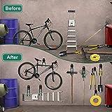 Garage Hooks Heavy Duty, 12-Pack Steel Garage