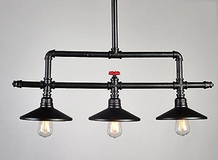Plafoniere Stile Industriale : Lampadari stile industriale retrò creativo soppalco in ferro