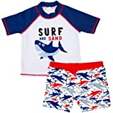 Gogokids Baby Boys Two-Piece Swimsuit Swimswear Kids Swim T-Shirt and Shorts 1-6 Years