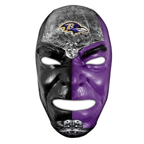 Baltimore Ravens Draft - Franklin Sports NFL Baltimore Ravens Team Fan Face Mask