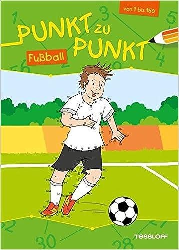 Von Punkt Zu Punkt Fussball Malen Nach Zahlen Von 1 Bis 150