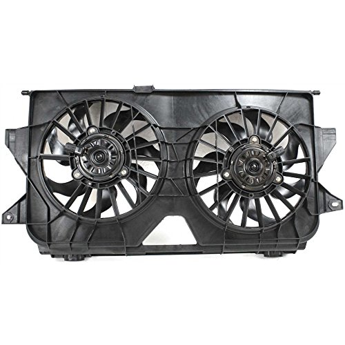 - Radiator Fan Assembly for Dodge Caravan/Grand Dodge Caravan/Chrysler Town and Country 05-07 Dual