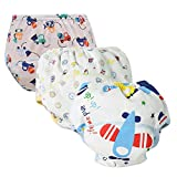 Unisex Baby Toddler Potty Cotton Training Pants Reusable Newborn Boys Girls Underwear (A 90)