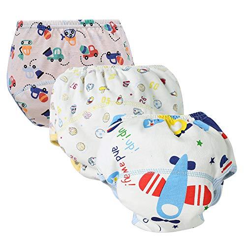 Unisex Baby Toddler Potty Cotton Training Pants Reusable Newborn Boys Girls Underwear (A 90) by Goodkids