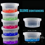 LEOBRO Storage Containers for Slime, 14 Pack Foam