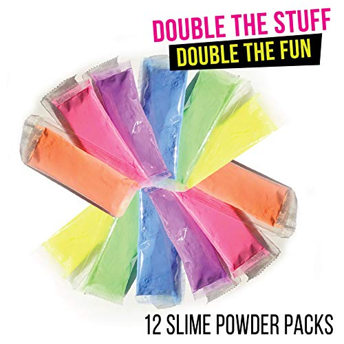 Slime Kit for Girls | Unicorn DIY Making Fluffy Slime Complete Supplies KIT | Including POOPSIE Surprises and Slime CONTAINERS | Art and Crafts at Home and Party Fun| Hottest Girl by SlimeWOW (Image #3)