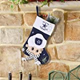 Dallas Cowboys Mascot Fiber Optic Stocking