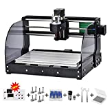 CNC 3018pro-M DIY Mini CNC Machine, Latest 3 Axis Wood Router Used As Laser Engraving Milling Machine For Metal Pcb Milling Machine Wood Router Laser Engraving (3018 PRO M)