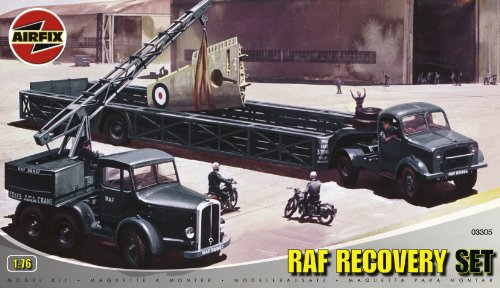 Airfix A03305 1:76 Scale Airfield Recovery Set Dioramas Classic Kit