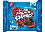 #3: Oreo Hot & Spicy Cinnamon Creme Chocolate Sandwich Cookies, 10.7 oz